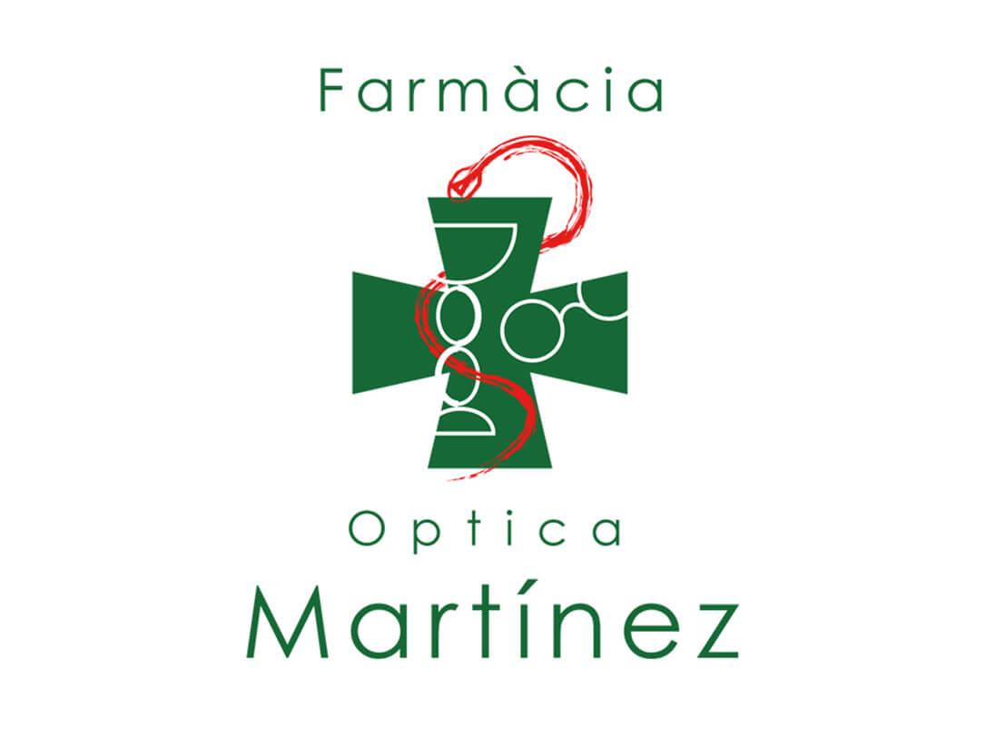Antigua Imagen corporativa Farmacia Martinez Lloret de mar