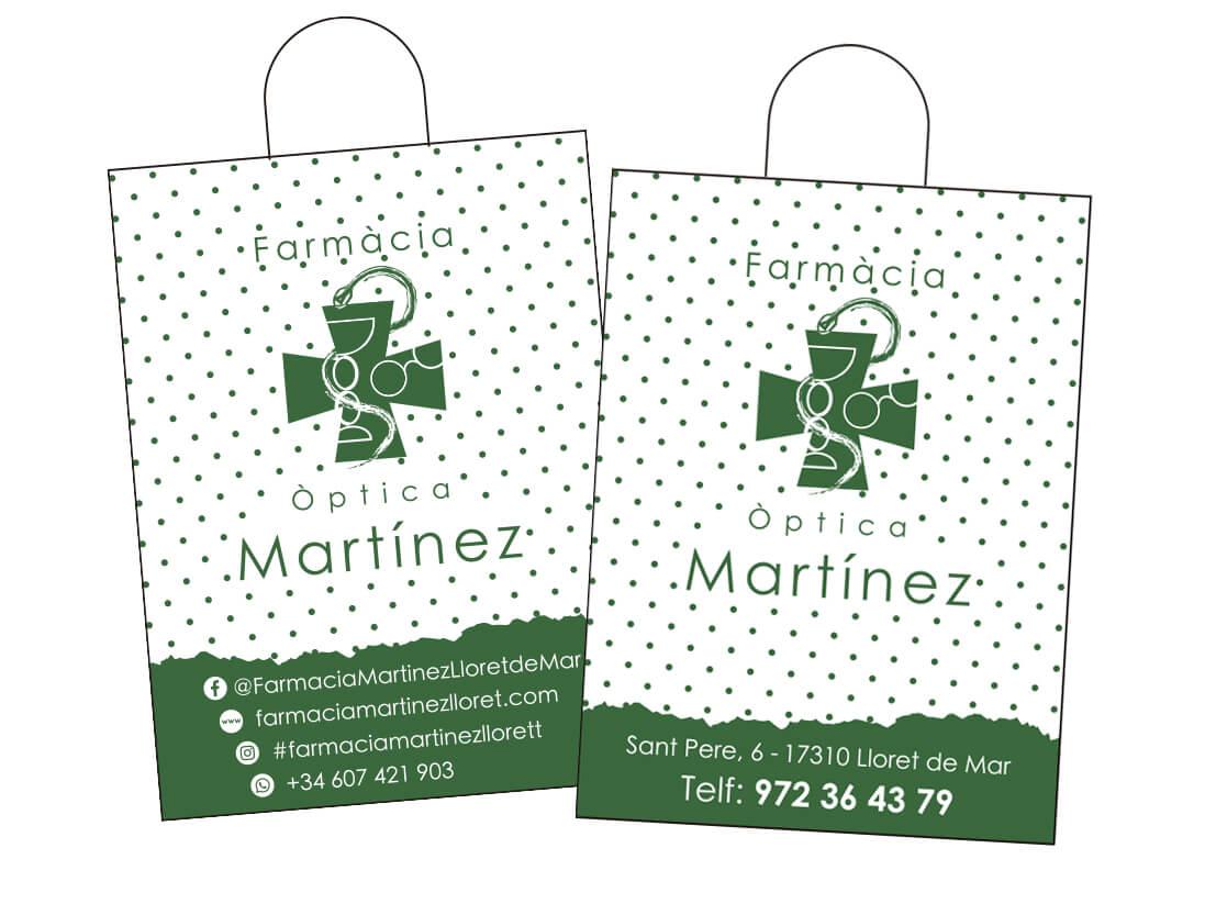 Bolsas Farmacia Martinez