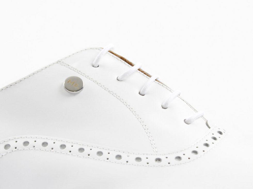 Detalles cordones zapatos MrGowell