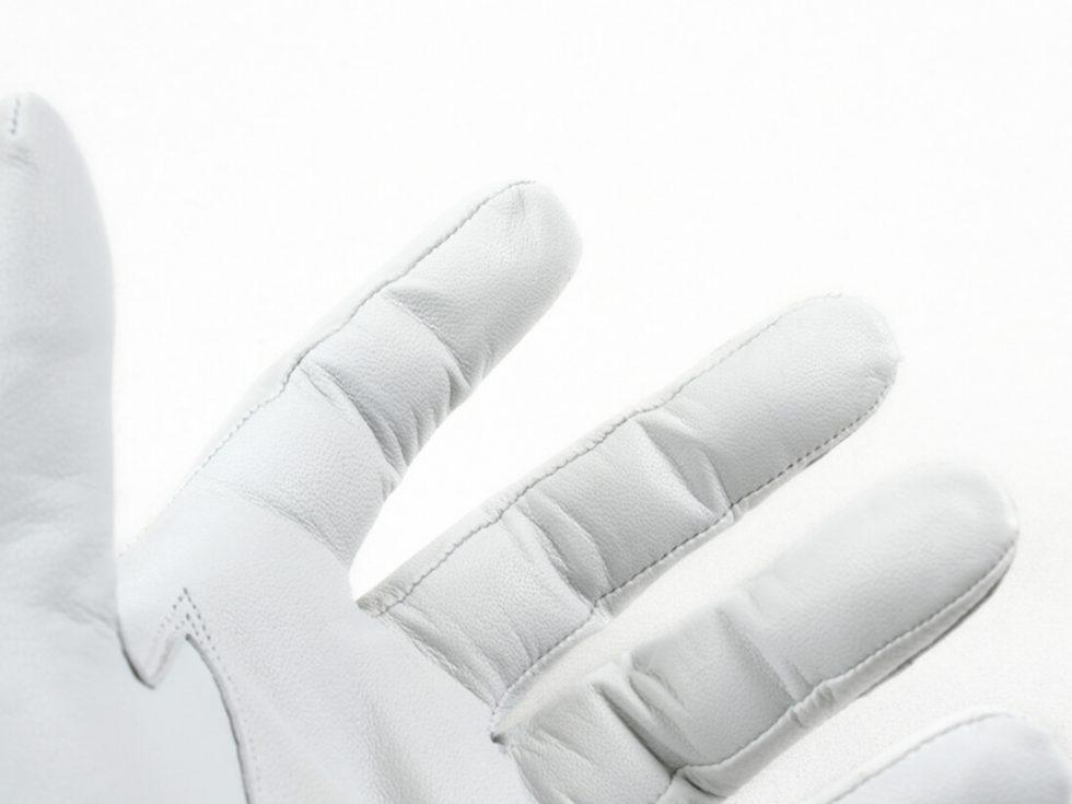 Detalles guantes dedos MrGowell