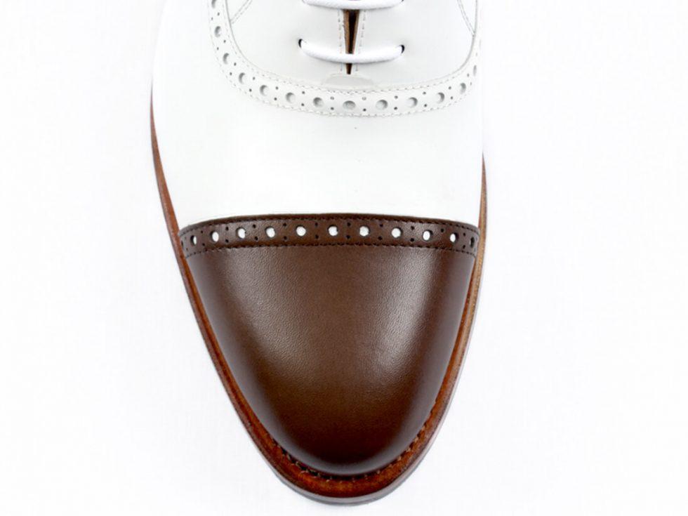 Detalles punta zapatos MrGowell