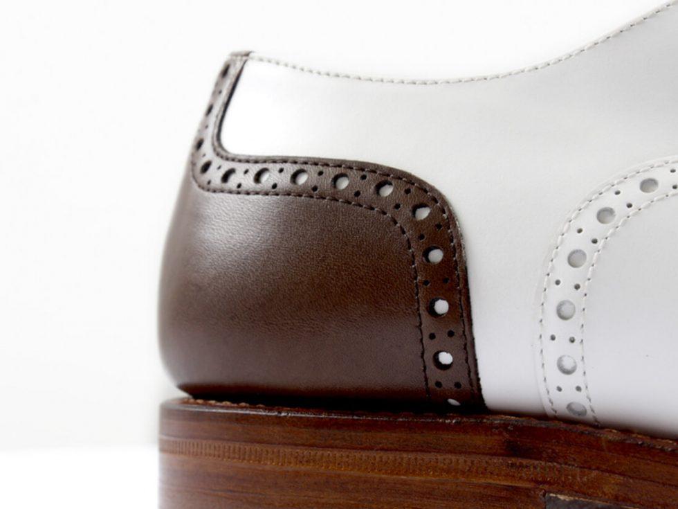 Detalles talon zapatos MrGowell