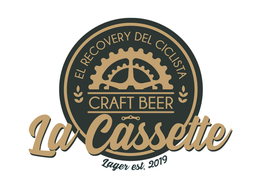Imagen corporativa Cerveza La Cassette