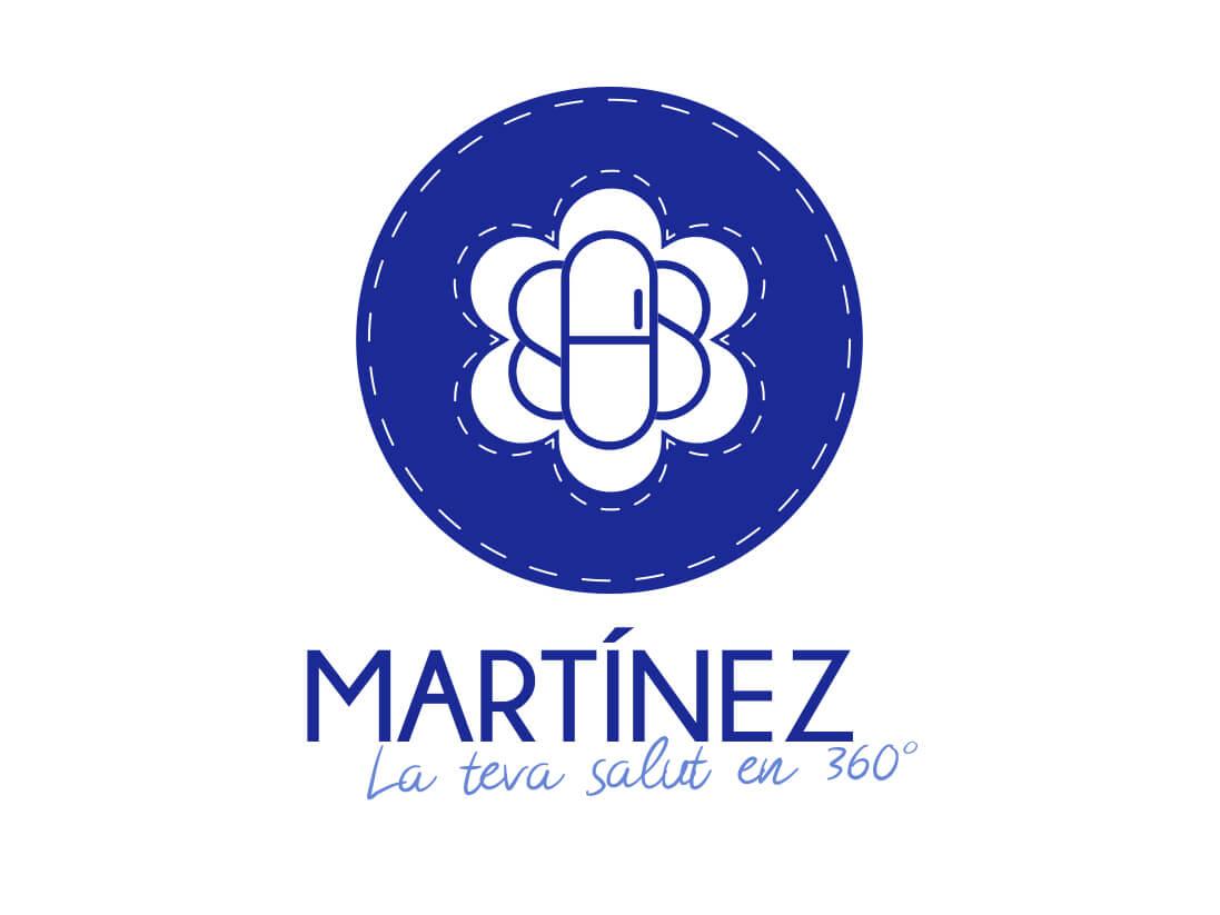 Imagen corporativa Farmacia Martinez Lloret de mar