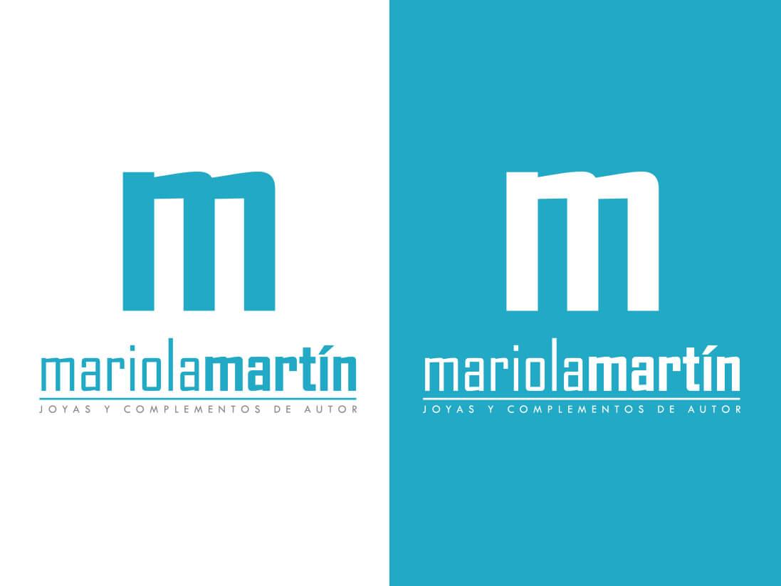Imagen corporativa Mariola Martín joyas