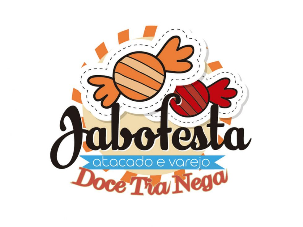 Imagen corporativa tienda de chucherias brasileña Jabofesta
