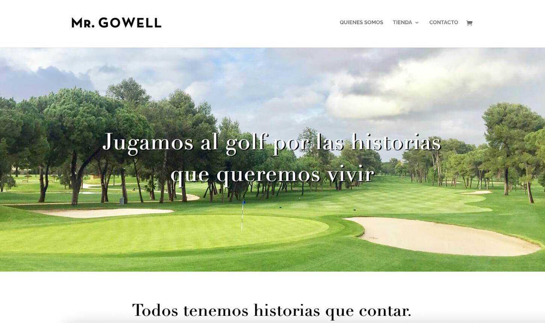 Pagina web MrGowell