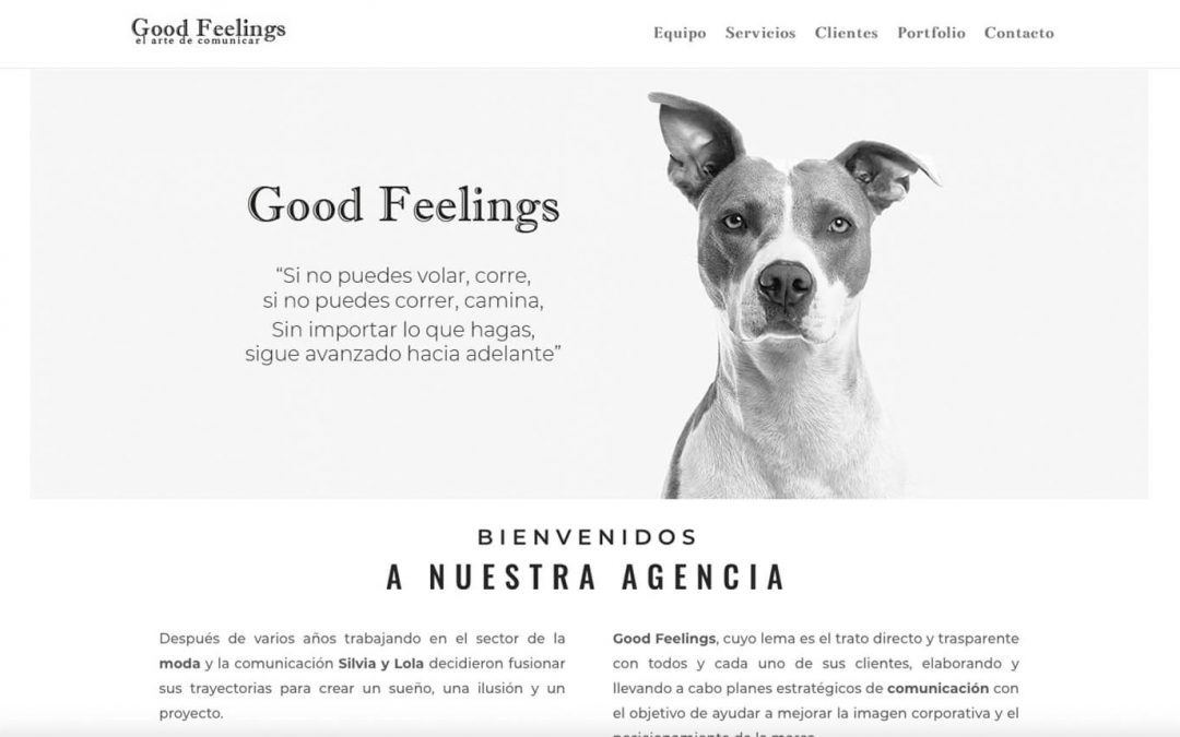 Good Feelings, comunicación