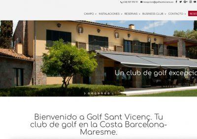 Campo de Golf Sant Vicenç de Montalt