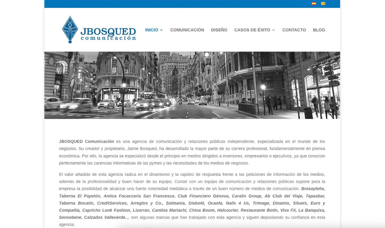 Web Jbosqued Comunicación