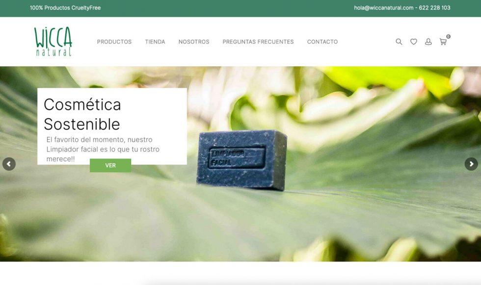 Pagina web de WiccaNatural