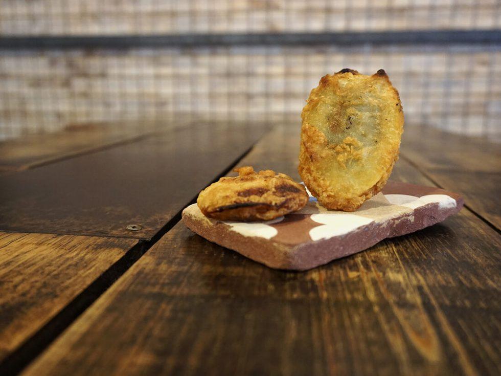 Patatas de Olot en el Sant Pere 70