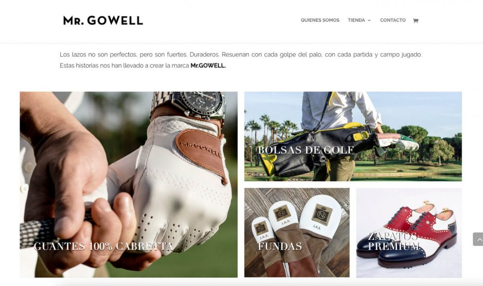 Productos MrGowell