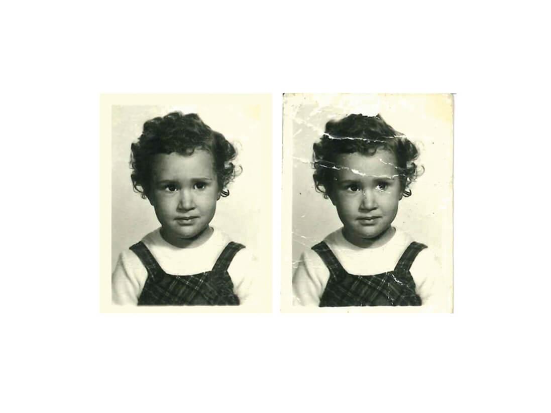 Restauración de fotografías dañadas