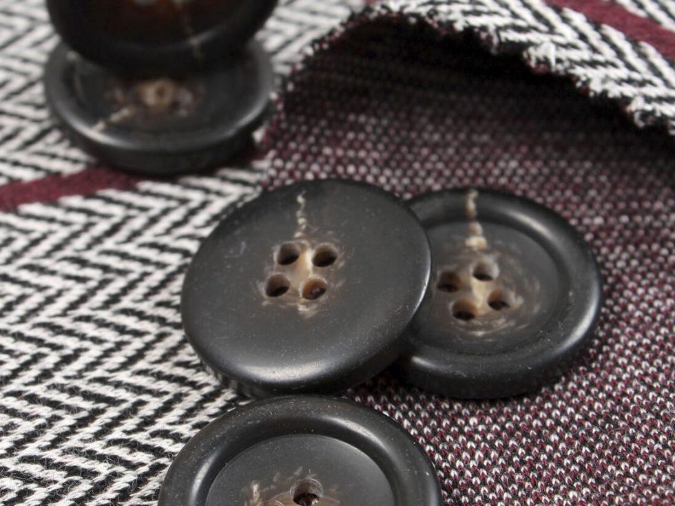 botones de hueso