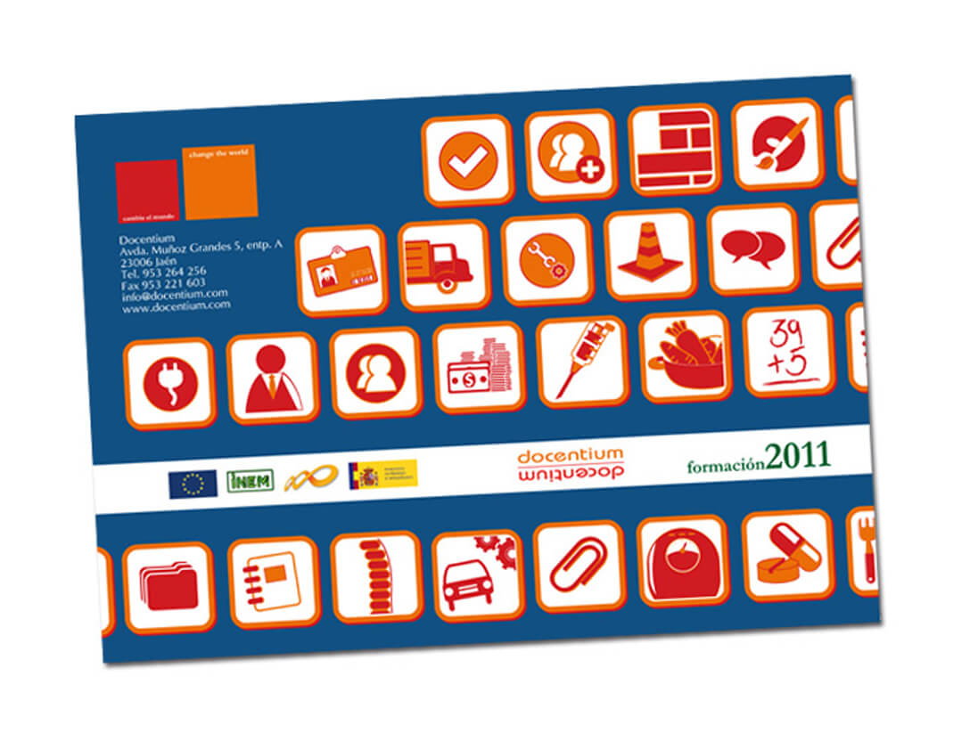 Diseño y maquetación catálogos Docentium